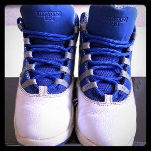 Air Jordan Retro 10 Size 1.5 (Youth)